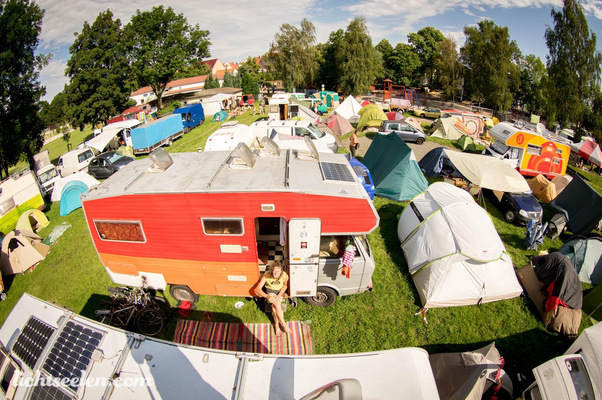 Camping und Parken